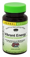 Herbs Etc - Vibrant Energy Professional Strength Alcohol Free - 30 Softgels, from category: Herbs