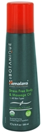 Image of Organique by Himalaya - Massage Oil Stress Ashwagandha & Triphala - 6.8 oz.