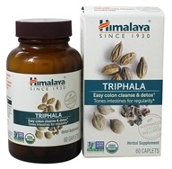 Himalaya Herbal Healthcare - Triphala Digestive Support - 60 Caplets - $10.04