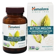 Himalaya Herbal Healthcare - Bitter Melon Glycemic Support - 60 Caplets, from category: Herbs