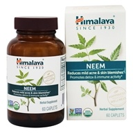 Image of Himalaya Herbal Healthcare - Neem Systemic Purifier - 60 Caplets