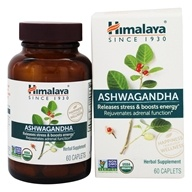 Himalaya Herbal Healthcare - Ashwagandha Anti-Stress & Energy - 60 Caplets - $10.36