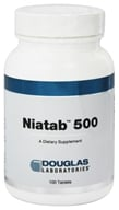 Douglas Laboratories - Niatab 500 - 100 Tablets
