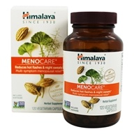 Image of Himalaya Herbal Healthcare - MenoCare Menosan for Menopausal Comfort - 120 Vegetarian Capsules