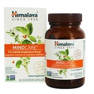 Image of Himalaya Herbal Healthcare - MindCare Mentat for Mental Alertness - 60 Vegetarian Capsules