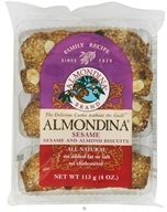 Almondina - Sesame And Almond Biscuits - 4 oz., from category: Health Foods