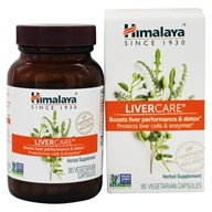 Himalaya Herbal Healthcare - LiverCare for Maintaining Liver Health - 90 Vegetarian Capsules (605069005012)