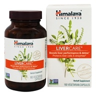 Himalaya Herbal Healthcare - LiverCare for Maintaining Liver Health - 180 Vegetarian Capsules LUCKYPRICE