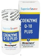Superior Source - CoEnzyme Q-10 Plus Instant Dissolve 50 mg. - 30 Mini-Tab(s)