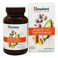 Himalaya Herbal Healthcare - GlucoCare for Natural Blood Glucose Health - 180 Vegetarian Capsules (605069009119)