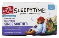 Image of Celestial Seasonings - Sleepytime Sinus Soother Wellness Tea - 20 Tea Bags