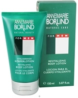 Borlind of Germany - Annemarie Borlind Natural Care For Men Revitalizing Body Lotion - 5.07 oz. CLEARANCE PRICED - $18.08
