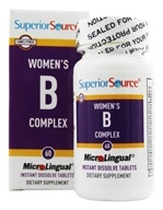Superior Source - Women's B Complex Instant Dissolve - 60 Tablets, from category: Vitamins & Minerals