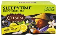 Celestial Seasonings - Sleepytime Decaf Lemon Jasmine Green Tea - 20 Tea Bags, from category: Teas