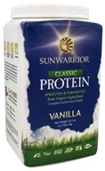 Sun Warrior - Protein Raw Vegan Vanilla - 2.2 lbs., from category: Health Foods