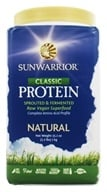 Sunwarrior - Protein Raw Vegan Natural - 2.2 lbs.