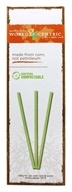 World Centric - Compostable Straws - 50 Count, from category: Housewares & Cleaning Aids
