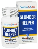 Superior Source - Slumber Helper Instant Dissolve - 90 Tablets, from category: Herbs