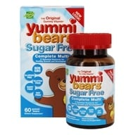 Hero Nutritional Products - Yummi Bears Children's Multi-Vitamin & Mineral Sugar Free - 60 Gummies - $14.29