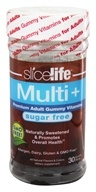 Image of Hero Nutritional Products - Slice of Life Multi+ Sugar Free Adult Gummy Vitamins - 30 Gummies