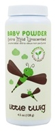 Little Twig - Baby Powder Extra Mild Unscented - 4.5 oz. - $8.69