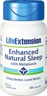 Life Extension - Enhanced Natural Sleep with Dual-Action Melatonin - 30 Capsules (737870155133)