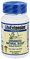 Life Extension - Enhanced Natural Sleep without Melatonin - 30 Capsules, from category: Nutritional Supplements
