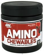 Optimum Nutrition - Amino Chewables Wild Berry - 100 Piece(s) (748927026603)