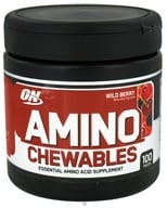 Optimum Nutrition - Amino Chewables Wild Berry - 100 Piece(s) - $17.96