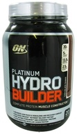 Image of Optimum Nutrition - Platinum Hydro Builder Chocolate Shake - 2.29 lbs.
