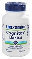 Image of Life Extension - Cognitex Basics - 60 Softgels