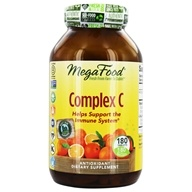MegaFood - DailyFoods Complex C Organic Bioflavonoid Complex - 180 Vegetarian Tablets, from category: Vitamins & Minerals