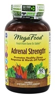 Image of MegaFood - Adrenal Strength - 90 Vegetarian Tablets