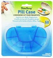 VitaCarry - Multi Day Pill Case With 8 Compartments - 1 Case