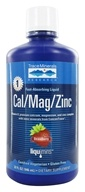 Image of Trace Minerals Research - Liquid Cal/Mag/Zinc Strawberry - 32 oz.