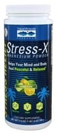Trace Minerals Research - Stress-X Magnesium Powder Lemon Lime - 23.3 oz.