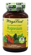 MegaFood - DailyFoods Magnesium Fast-Acting & Bioavailable Form - 60 Vegetarian Tablets