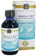Nordic Naturals - Omega-3 Pet For Cats & Small Breed Dogs - 2 oz.