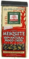 Nature's Grilling Products - 100% Natural Wood Chips Gourmet Mesquite - 2 lbs. CLEARANCE PRICED