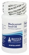 Biotics Research - Blackcurrant Seed Oil GLA - 60 Capsules - $17.30