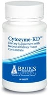 Image of Biotics Research - Cytozyme-KD with Neonatal Kidney Tissue Concentrate - 60 Tablets