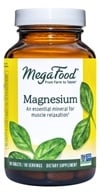 MegaFood - DailyFoods Magnesium Fast-Acting & Bioavailable Form - 90 Vegetarian Tablets