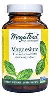 Image of MegaFood - DailyFoods Magnesium Fast-Acting & Bioavailable Form - 90 Vegetarian Tablets