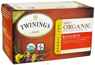 Twinings of London - Organic Rooibos Tea - 20 Tea Bags