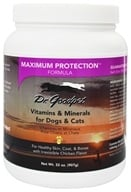 Dr. Goodpet - Maximum Protection Formula Vitamins & Minerals for Dogs & Cats - 32 oz.