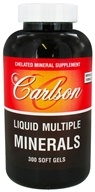 Carlson Labs - Liquid Multiple Minerals - 300 Softgels (088395050565)