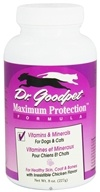 Dr. Goodpet - Maximum Protection Formula Vitamins & Minerals for Dogs & Cats - 8 oz. (031697101015)