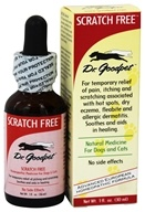 Dr. Goodpet - Scratch Free Homeopathic Formula For Dogs & Cats - 1 oz., from category: Homeopathy