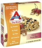 Image of Atkins Nutritionals Inc. - Day Break Bar Cherry Pecan - 5 Bars