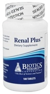 Biotics Research - Renal Plus - 180 Tablets